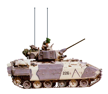 Military vehicles bradley
