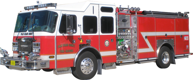 Fire Department Red Paint